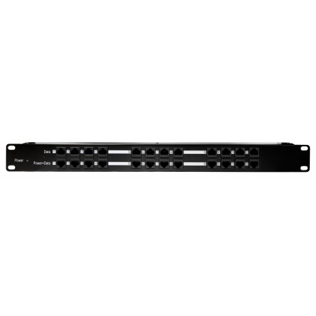12 Port Rack Mount POE Injector (POE12PORT)
