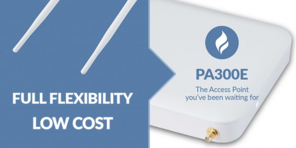 Meet the PA300E, the Access Point you've been waiting for!